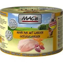 Mac's cat  kurczak z całymi sercami drobiowymi  (200g-400g)