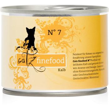 Catz Finefood nr.7 - Cielęcina 200 g