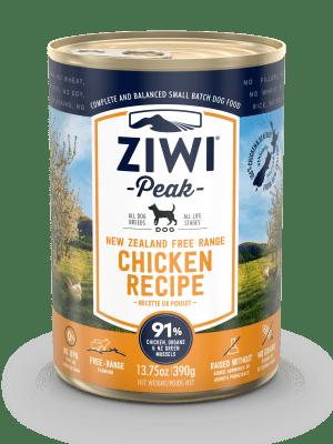 ZiwiPeak Dog Wet free range chicken (390g-6x390g)