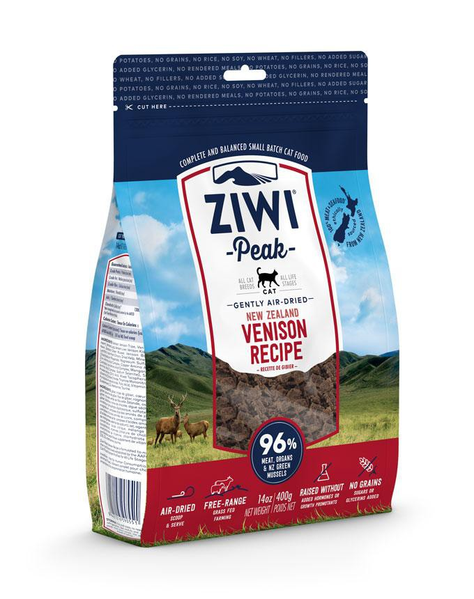 ZiwiPeak Cat Air Dried Venison (dziczyzna)  400g