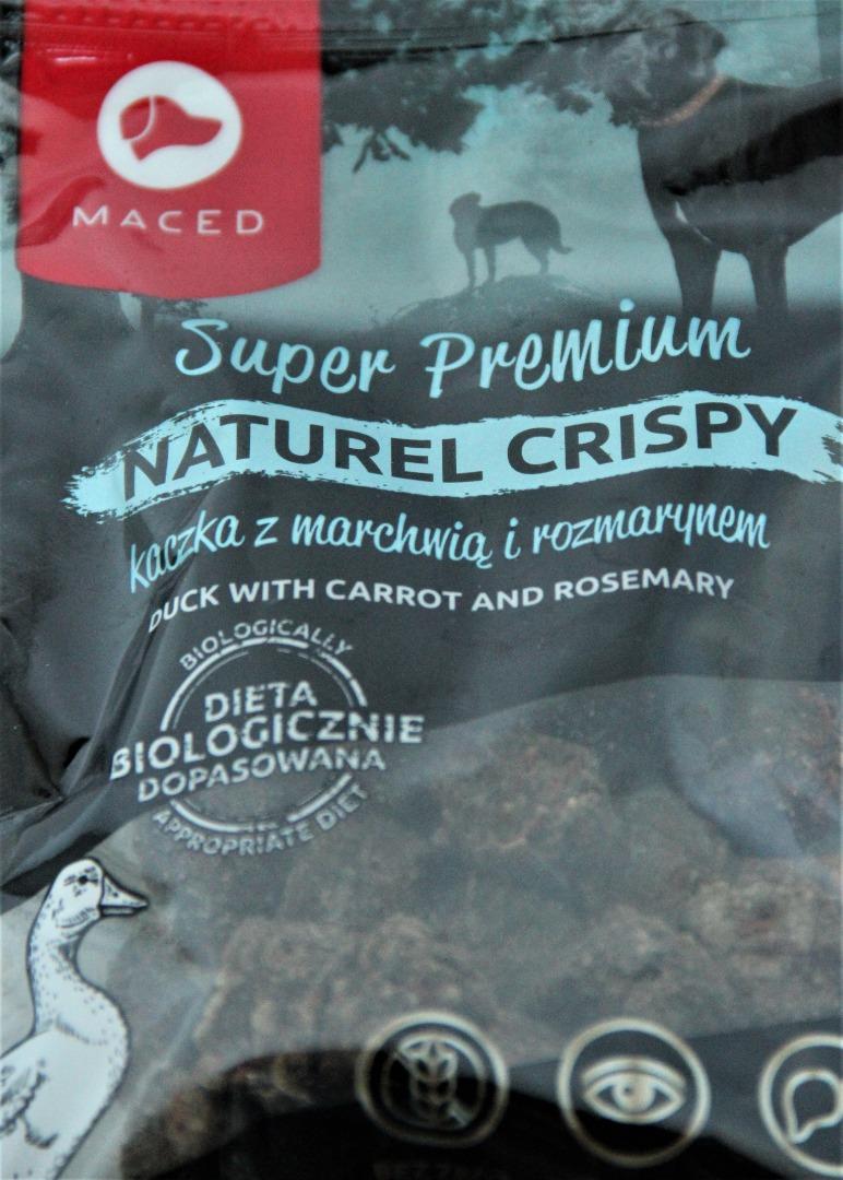 MACED Super Premium Naturel Crispy kaczka z rozmarynem dla psa  80g.