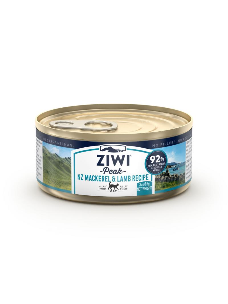 ZiwiPeak Cat puszka Mackerel & Lamb Makrela z Jagnięciną  85g - 185g