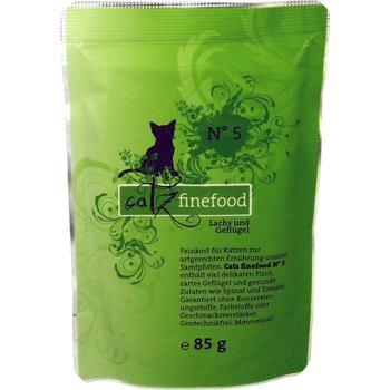 Catz Finefood nr.5 - Łosoś i drób 85 g