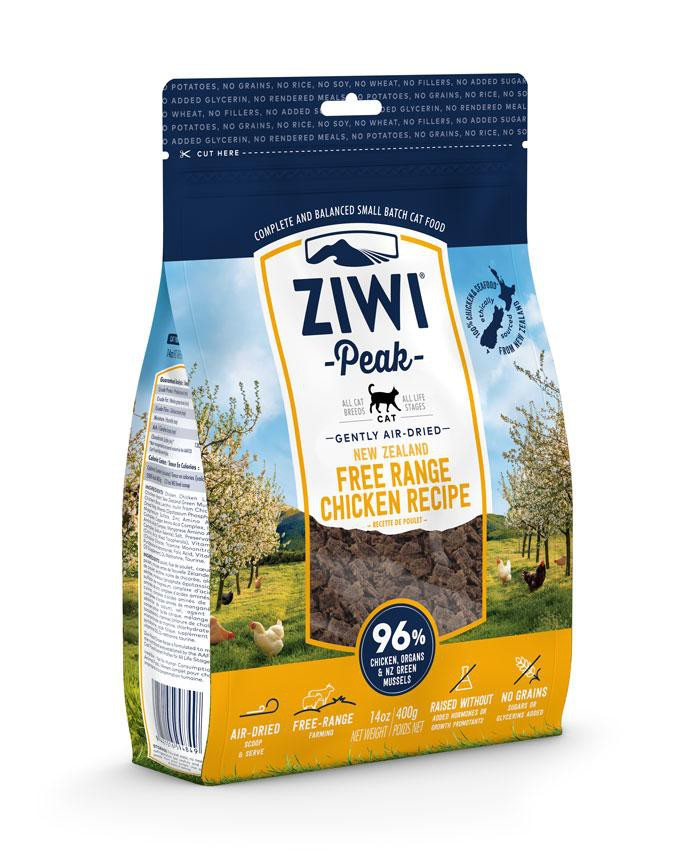ZiwiPeak Cat Air Dried Chicken  Kurczak 400g