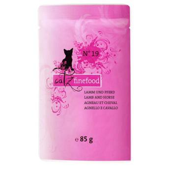 Catz Finefood No.19 - Jagnięcina i konina - 85 g