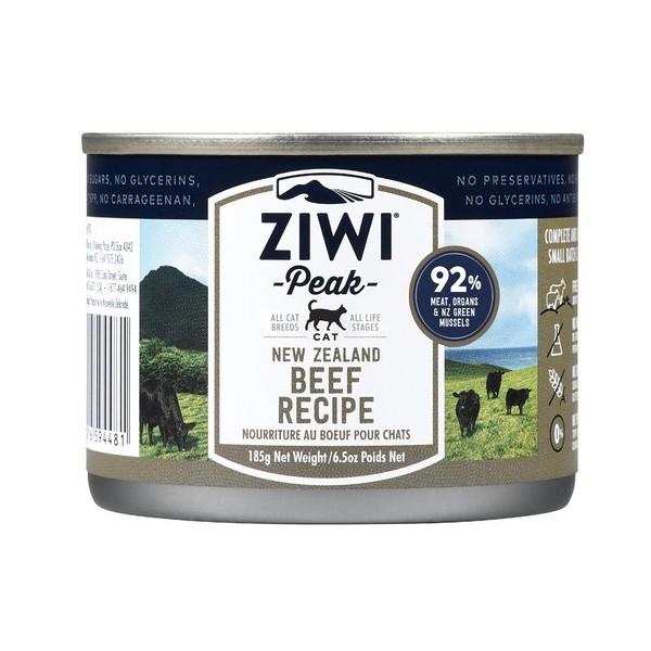 ZiwiPeak Cat puszka  Beef 185g