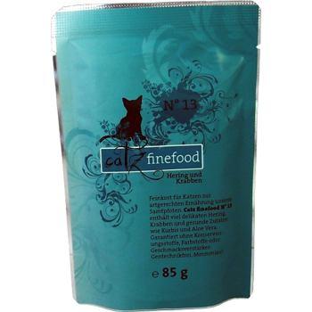 Catz Finefood nr.13 – Śledź i krewetki 85 g