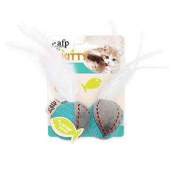 piłka z piórkami z kocimiętką
