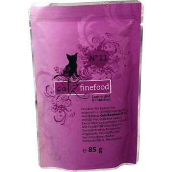 Catz Finefood nr.11 - Jagnięcina i królik 85 g