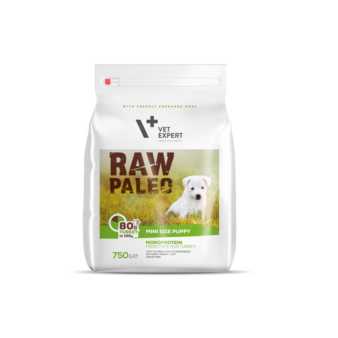 Raw Paleo dla szczeniąt małych ras z indykiem 750g-2,5 kg