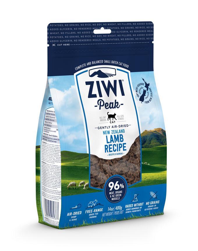 ZiwiPeak Cat Air Dried Lamb  Jagnięcina 400g