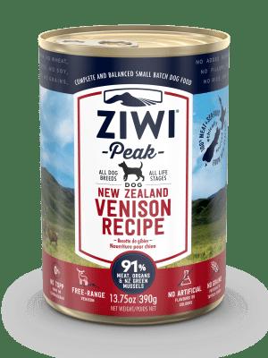 ZiwiPeak Dog Wet  Venison  w puszce 390 g