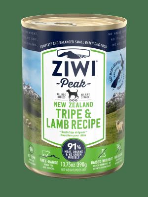 ZiwiPeak Dog Wet Tripe & Lamb (Żwacze + Jagnięcina)