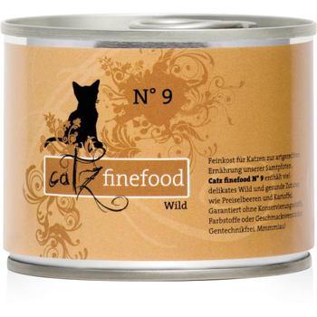Catz Finefood nr.9 - Dziczyzna 200 g