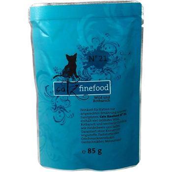Catz Finefood nr.21 - Dziczyzna i karmazyn 85 g