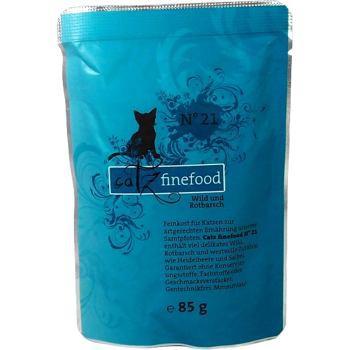 Catz Finefood nr 21 - Dziczyzna i karmazyn 85 g