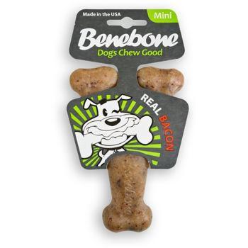 Benebone Mini Bacon - Gryzak dla psa o smaku bekonu