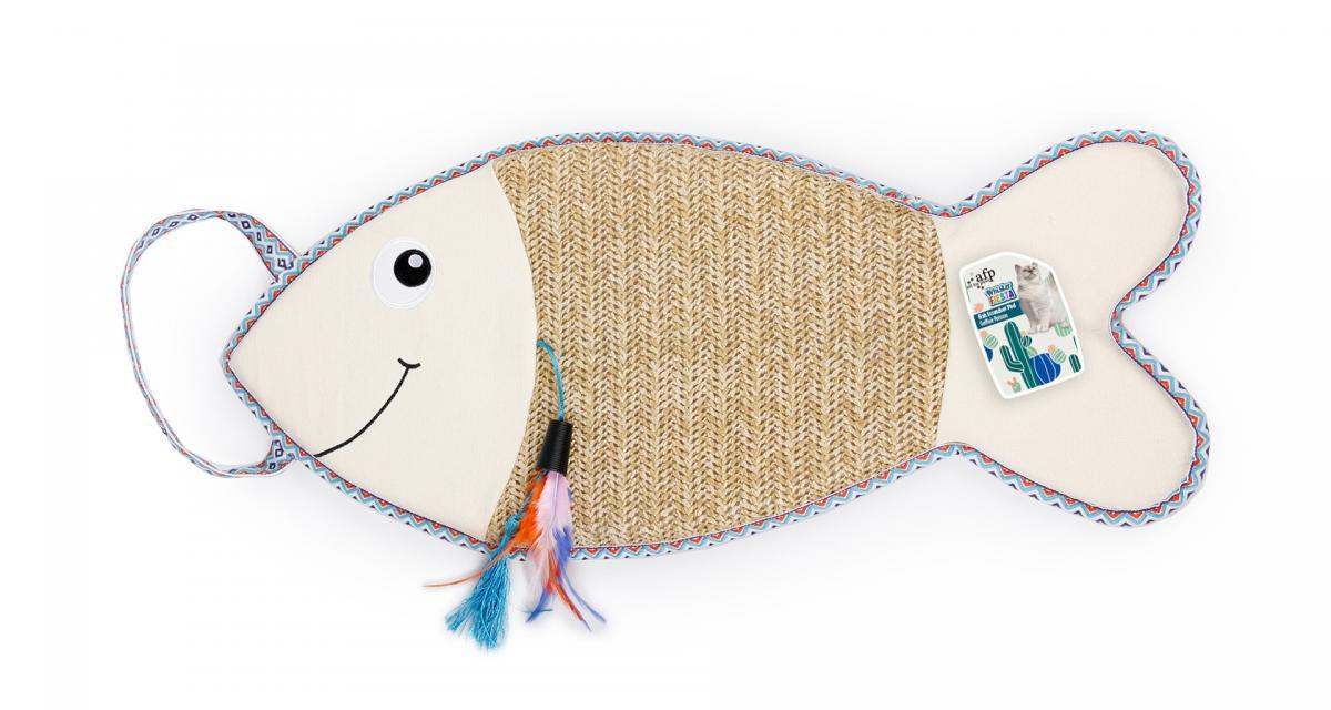 Fiesta Fish Scratcher Pad- drapak w kształcie ryby