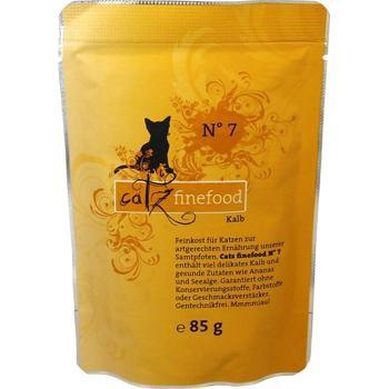 Catz Finefood No.7 - Cielę 85 g