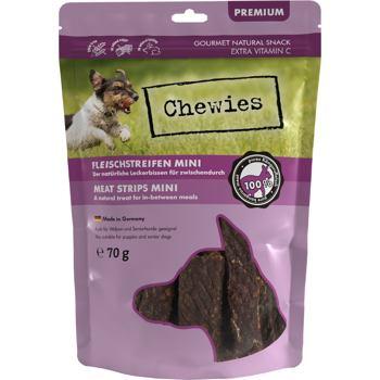 Chewies przysmak mięsny z kangura  z witaminą C dla psa 70g MINI