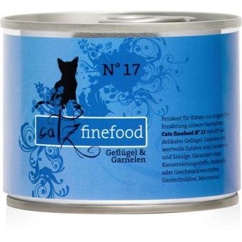 Catz Finefood nr.17 - Drób i krewetki 200 g